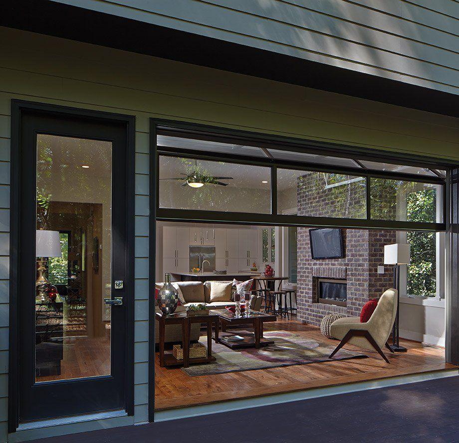Room Envy A Lavista Park Family Room Opens To The