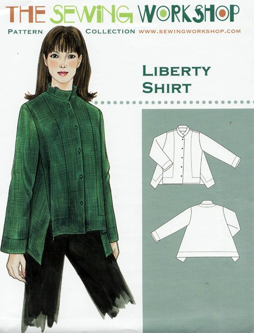 The Sewing Workshop Liberty Shirt Pattern Patterns I Own
