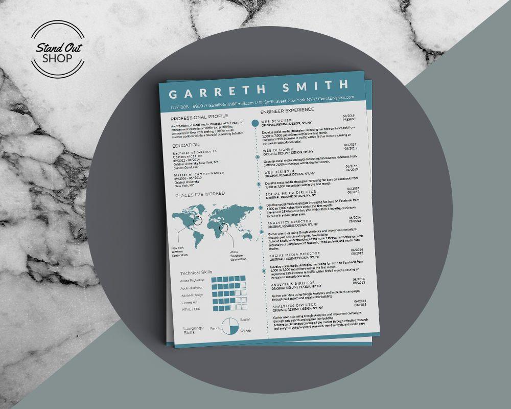 garreth smith engineer resume template