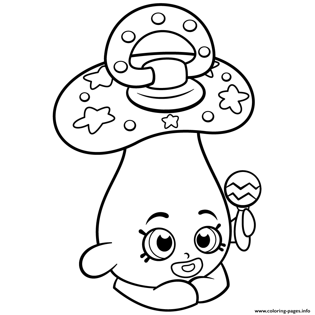 Print Baby Peacekeeper Dum Mee Shopkins Season 2 Coloring Pages