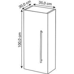 Armarios De Parede Do Banheiro Armario Posseik Viva Antracite Branco Posseikposseik In 2020 Bathroom Wall Cabinets Architecture Bathroom Wall Cabinet