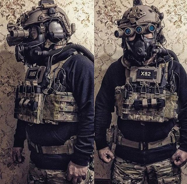 CAG loadout to include CBRNE mask | Tactical Gear & Kit