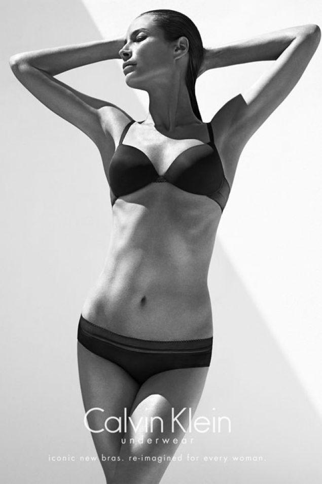 Christy Turlington | Fall 2013 | Calvin Klein Underwear.