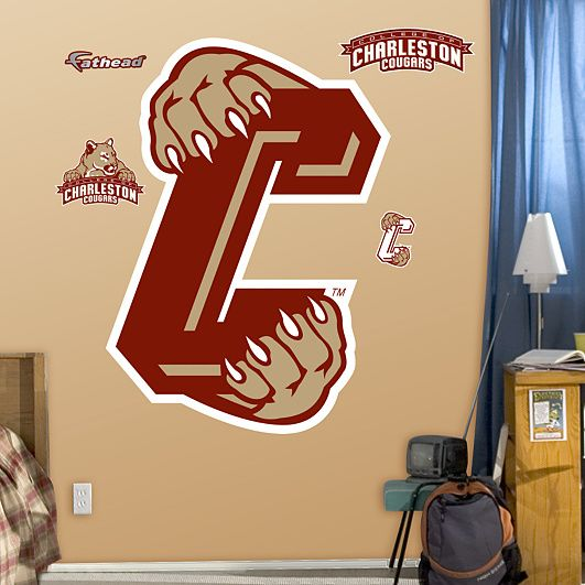 College Of Charleston Cougars Logo. I Need This For My Room Part 90