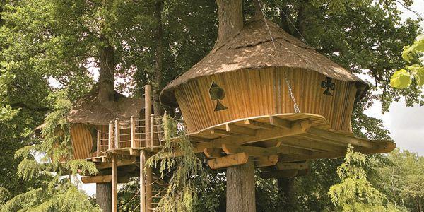un r ve d 39 enfant construire une cabane dans les arbres et y dormir h tel pinterest. Black Bedroom Furniture Sets. Home Design Ideas