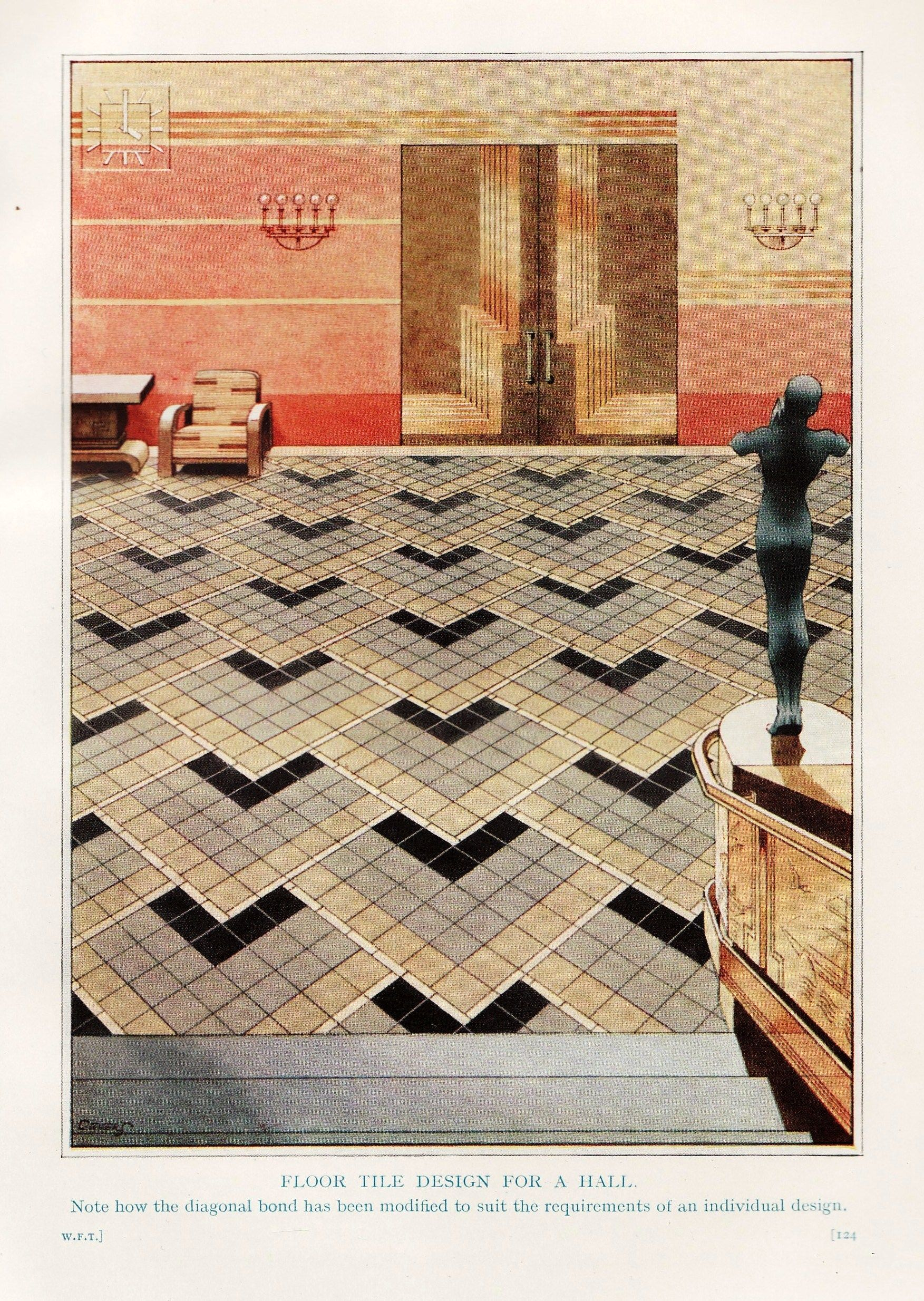 Art Deco Tiles Are Amongst The Most Elegant And Stylish Tiles In The  History Of Tiles Part 55