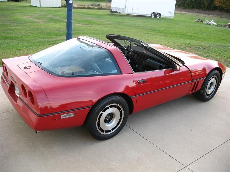Corvette 1984 Targa Top C4 Corvette Chevrolet Corvette