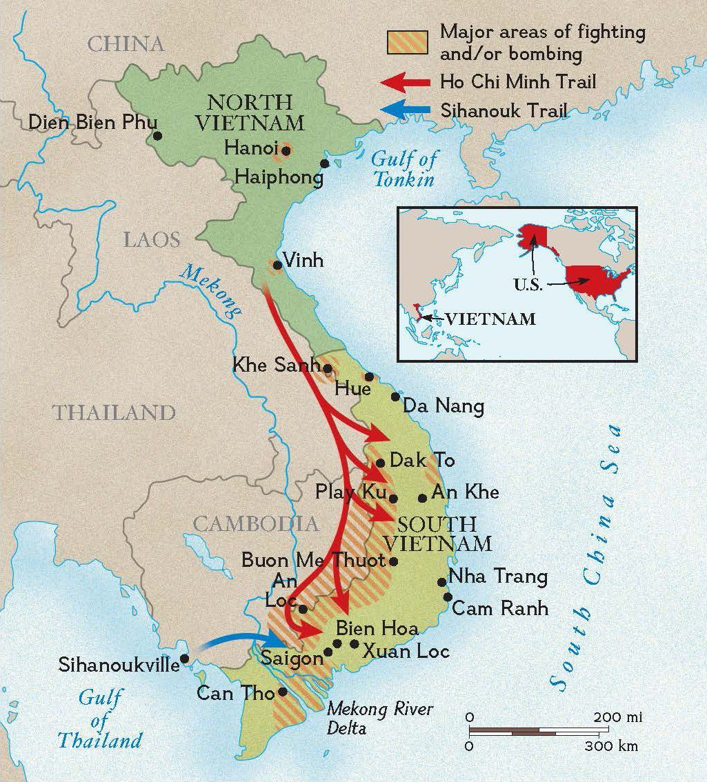 Account of the involvement of the united states in the vietnam war