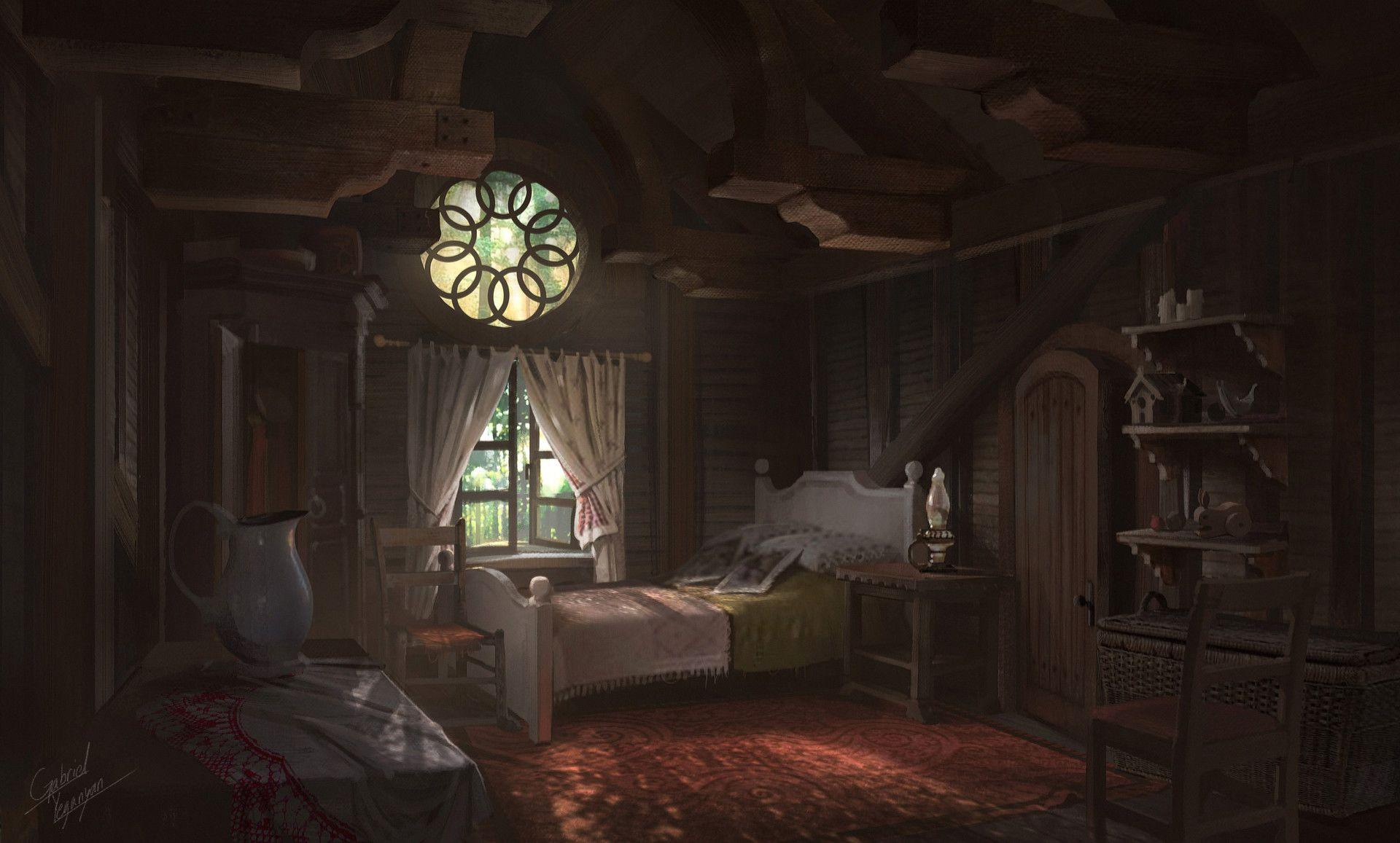Artstation Annie Origins League Of Legends Cabin