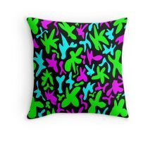 'Abstract cute whimsical brights fanciful funny green, blue and pink shapes. Colorful retro stylish trendy design' by IvyArtistic