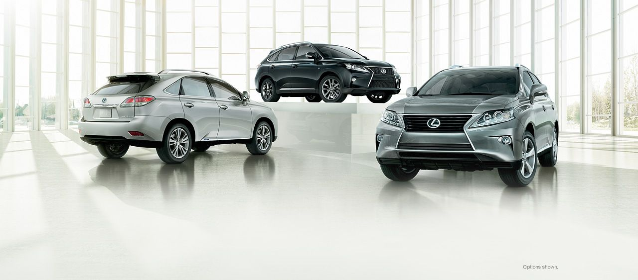 Lexus RX Explore Luxury Crossovers 2013 RX 350, RX 350