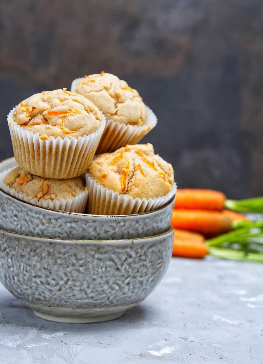 Carrot Cake Cupcakes Recipe in 2020 Carrot cake