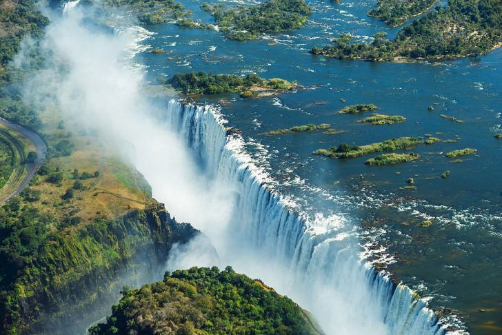 The Most Beautiful Places In The World Waterfall Beautiful Waterfalls Victoria Falls