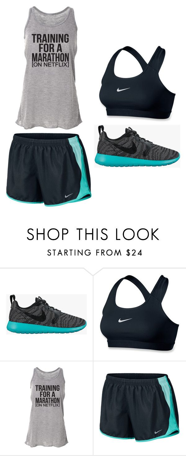 """""""Outfit Idea by Polyvore Remix"""" by polyvore-remix ❤ liked on Polyvore featuring NIKE"""