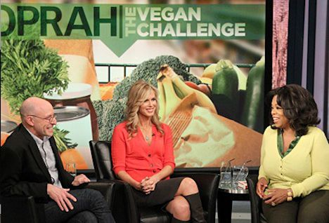 Ascension Earth ~ Fresh content posted throughout the day!  : Oprah Winfrey's Vegan Challenge