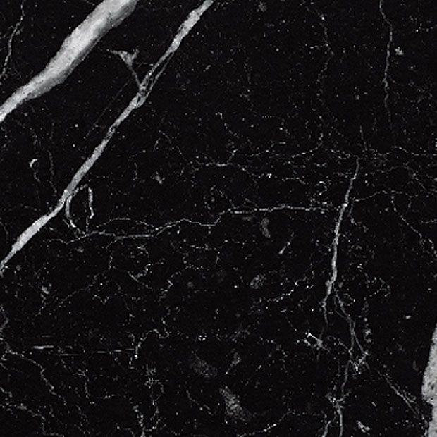 Gray White Veined Marble Bathrooms: Polished Spanish Nero Marquinha Black, White Veined Marble