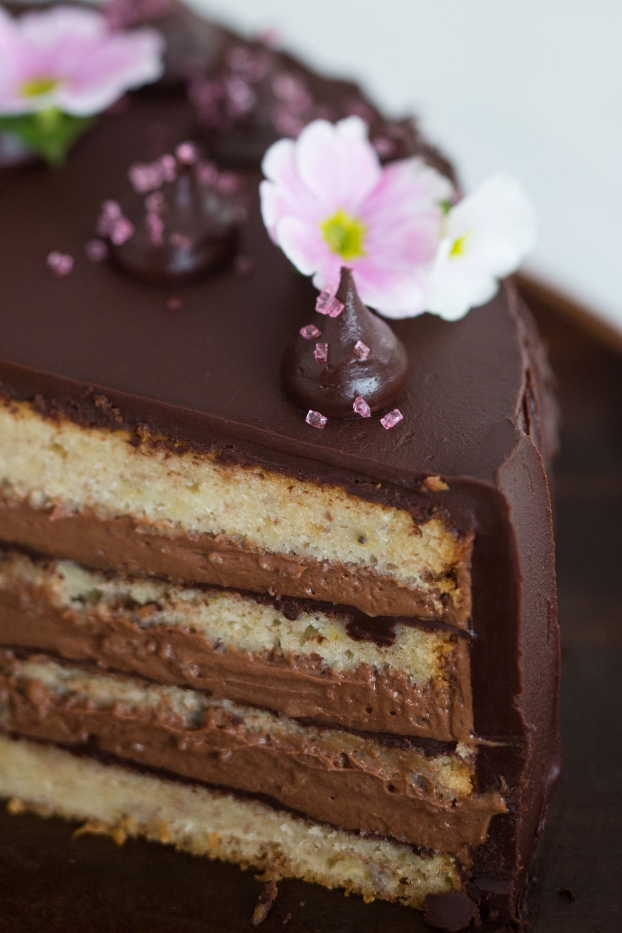 Bolo De Banana E Nutella Receita Receitas Com Chocolate Ideias E Bolo De Cupcake