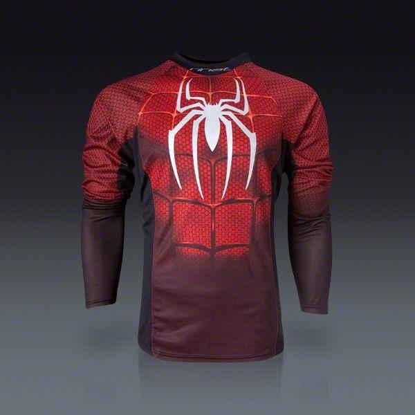3fff5013d9d Long Sleeve Spider Man Goalkeeper Jersey | I would wear this ...