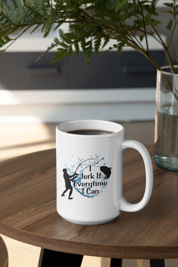 Fishing Mug, Fishing Gift For Men, Gift For Boyfriend, Gift For Husband