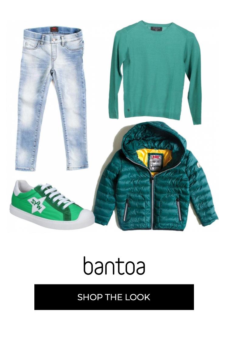 Trova il tuo outfit bambino su Bantoa