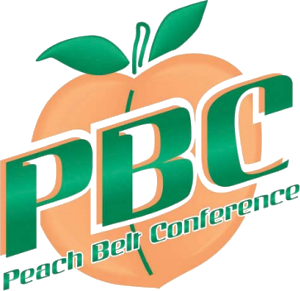 Peach Belt Conference logo   Peach, Conference logo, Conference