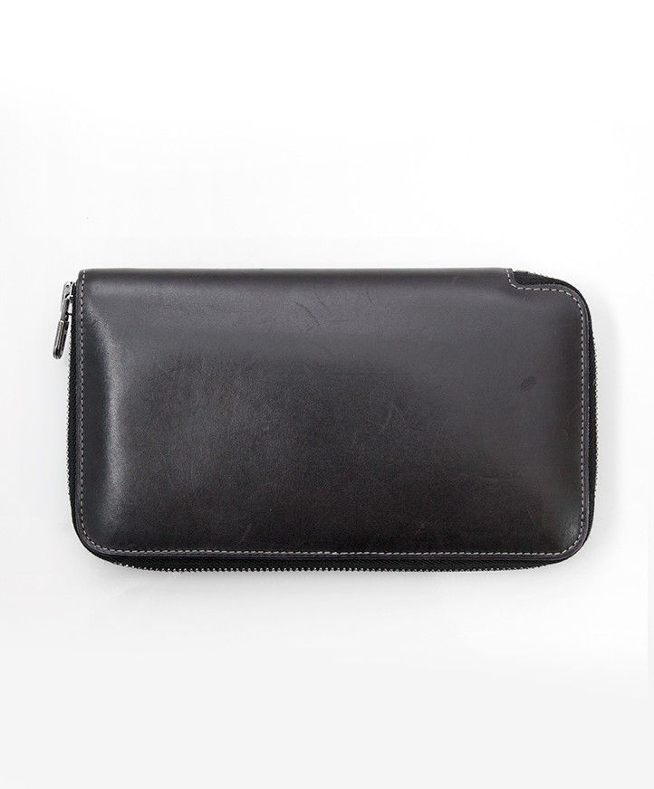 Buy safe online secondhand designer vintage black delvaux wallet best price online  webshop labellov b1b5382f50b7e