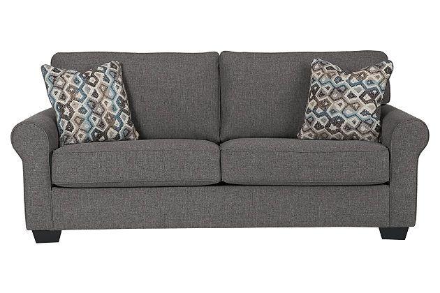 Fantastic Slate Nalini Queen Sofa Sleeper View 2 Home Queen Sofa Machost Co Dining Chair Design Ideas Machostcouk