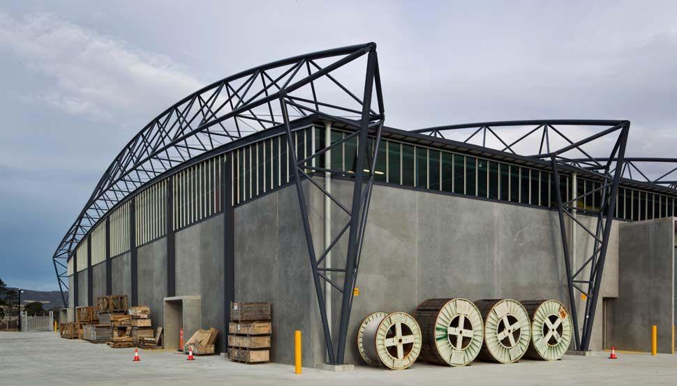 Transend Primary Store BlueScope Steel Lighting truss
