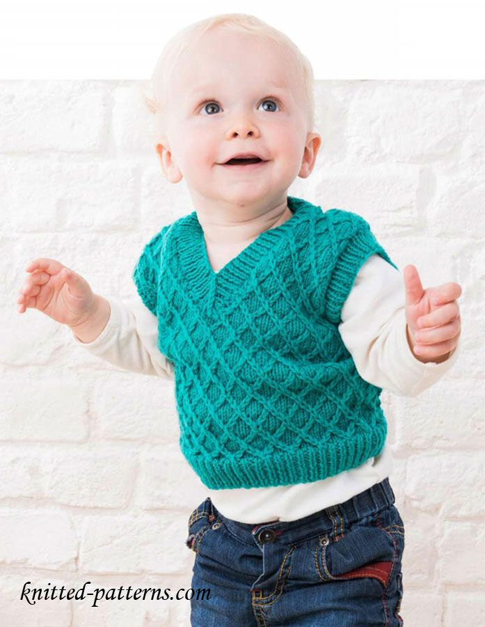 6e4759317 Baby tank top knitting pattern free