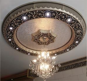 گل سقفی گچبری بری پیش ساخته بهترین جایگزین کناف Interior Design Decor Interior