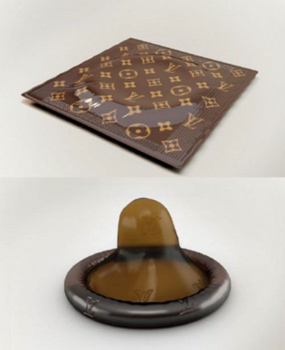 Fancy Schmancy Louis Vuitton Condoms
