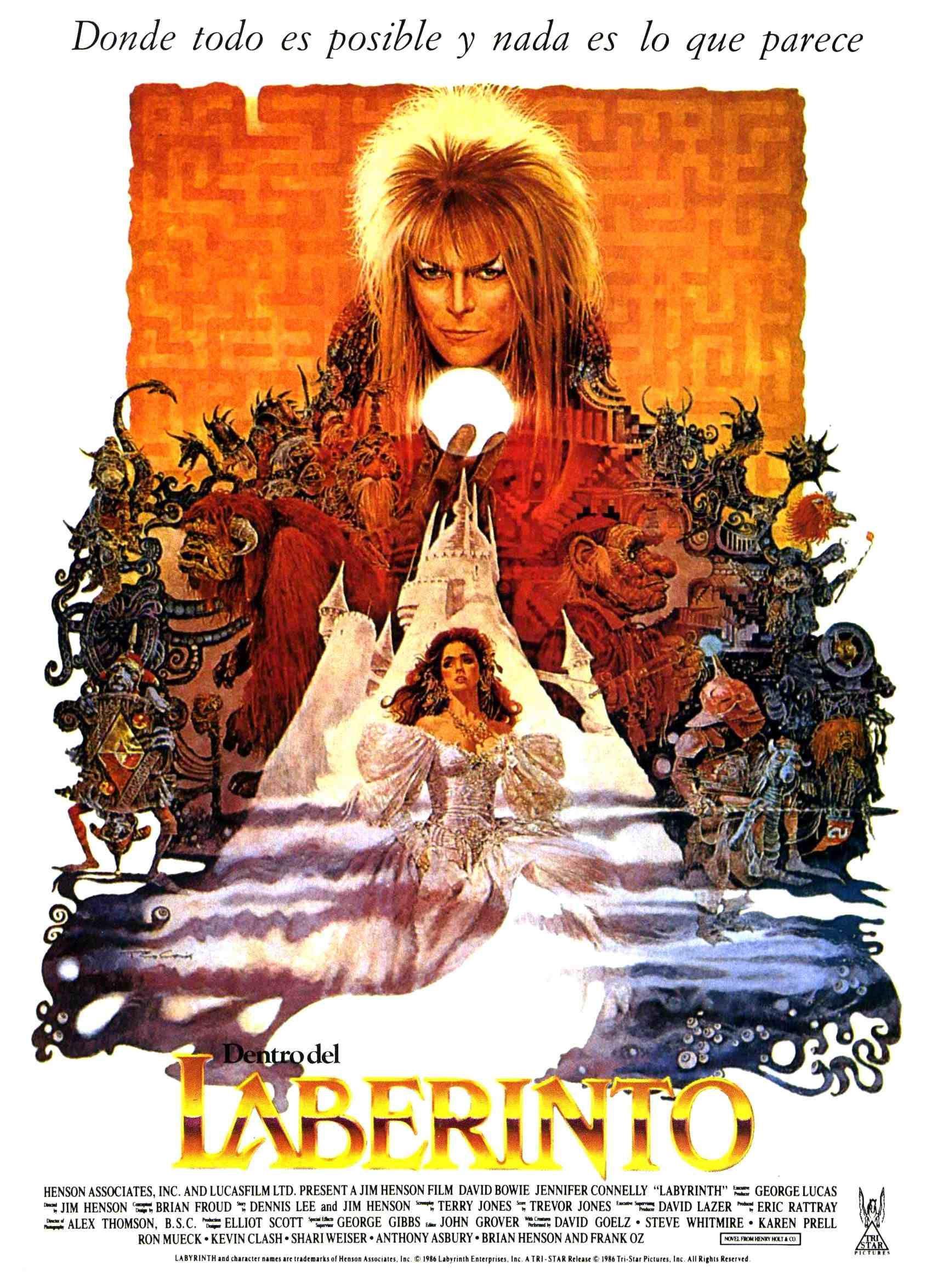 Dentro del laberinto, 1986 Películas de halloween