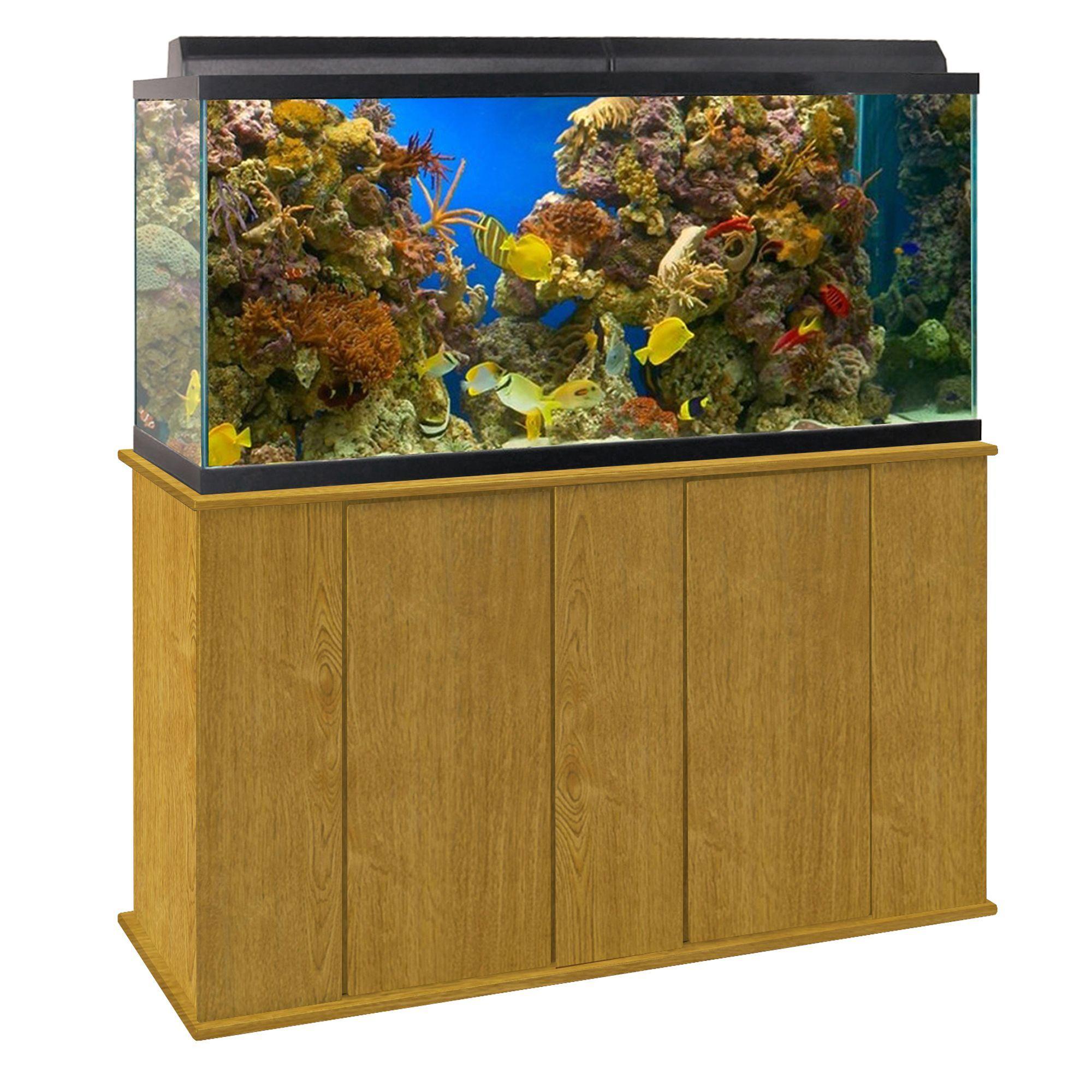 Marco 7590 Gallon Upright Aquarium Stand, Brown