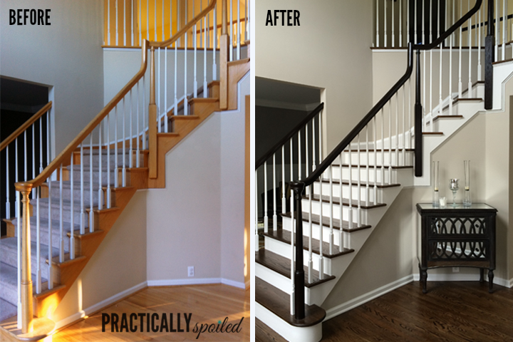 Best 25 Staining Stairs Ideas On Pinterest Stair