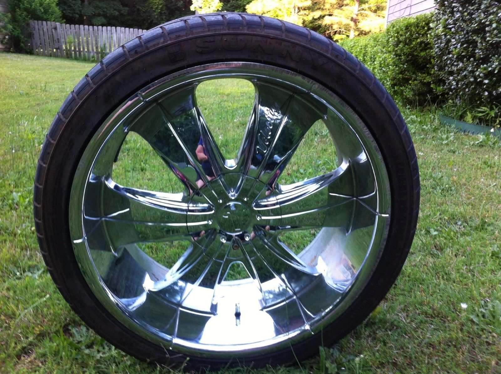Velocity Wheels (Used Chrome 22 inch Rims) | car accessories ...