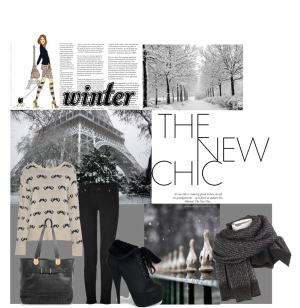 """Winter in Paris"" by talkativegirl ❤ liked on Polyvore"