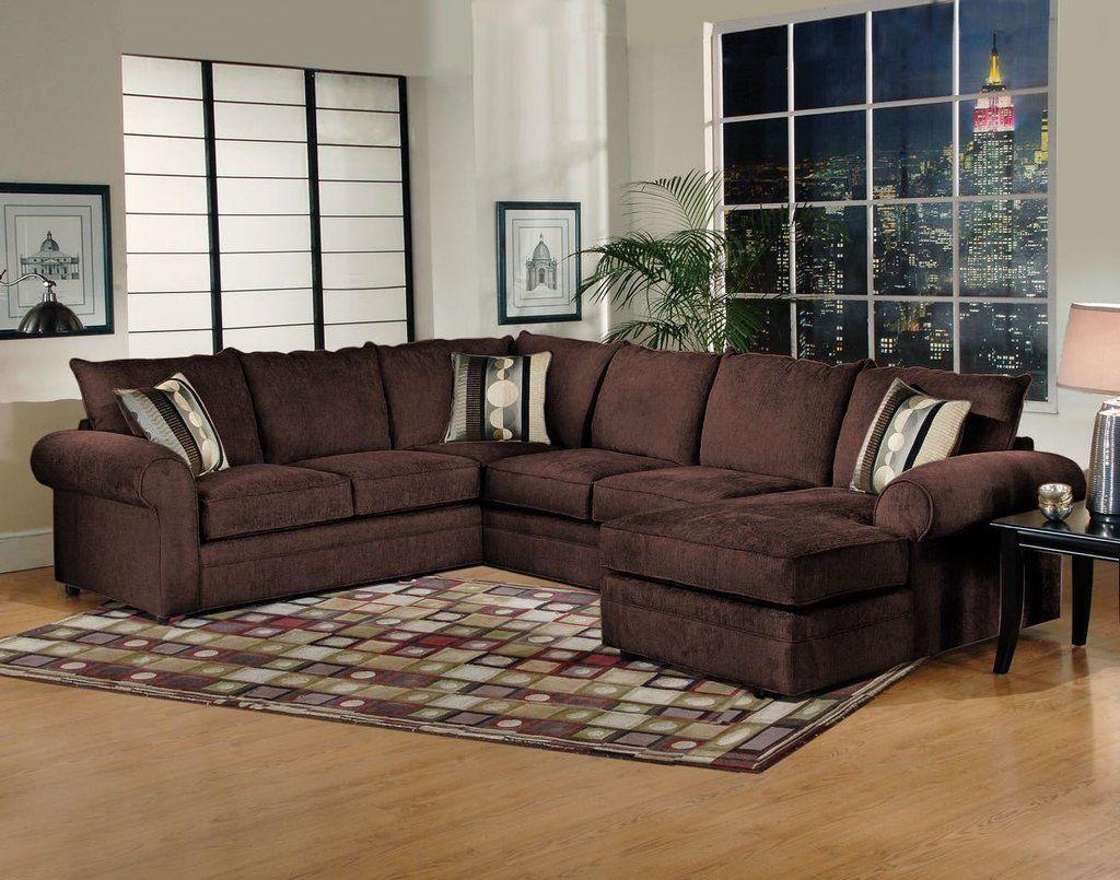 Serta Sidekick Fudge Chaise Sectional Brown Sectional Sofa Sectional Sofa Sectional Sofa Couch