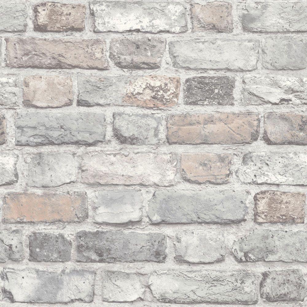 Vintage Brick, Wallpaper, A28902 | Pinterest