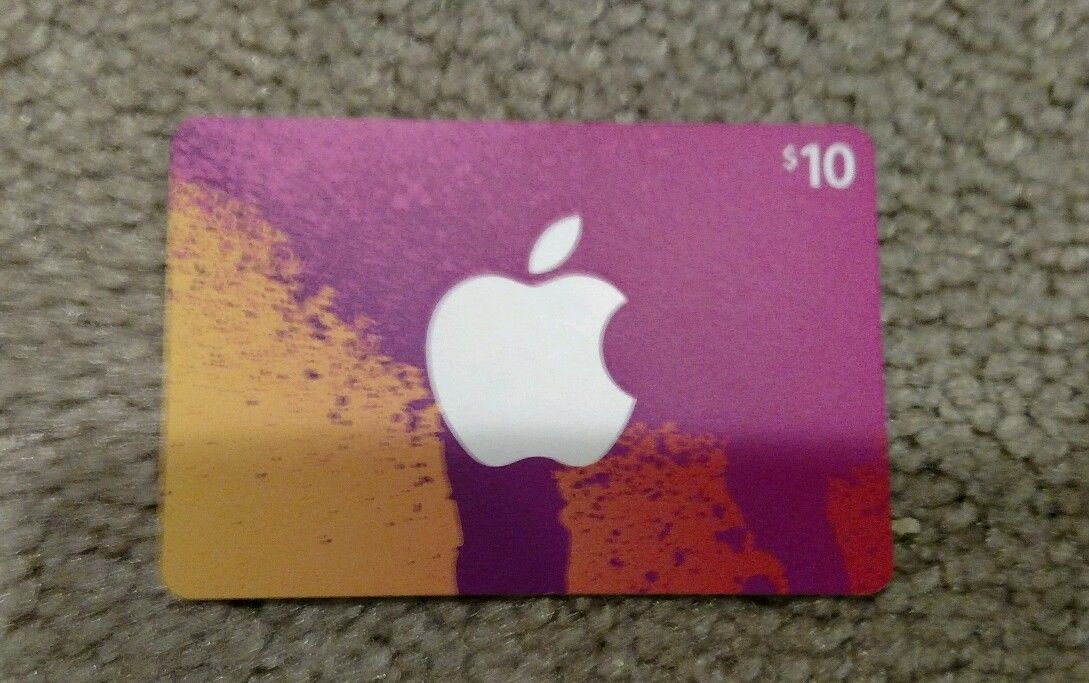 10 apple itunes gift card