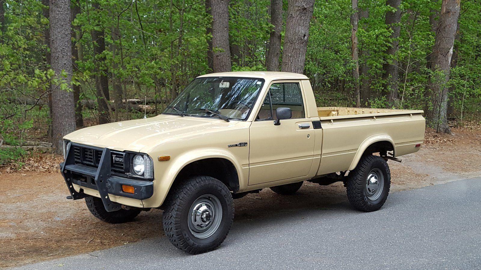 1980 Toyota Pickup | Toyota hilux, Toyota trucks, Toyota pickup 4x4