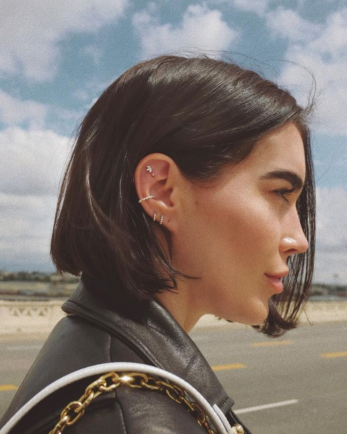 Photo of It turns out that there are 7 types of ear piercings that celebrities love …