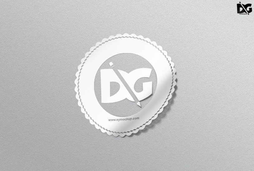 40 Free Sticker Mockup Psd For Branding 2019 Update Graphic Cloud Mockup Psd Free Stickers Mockup