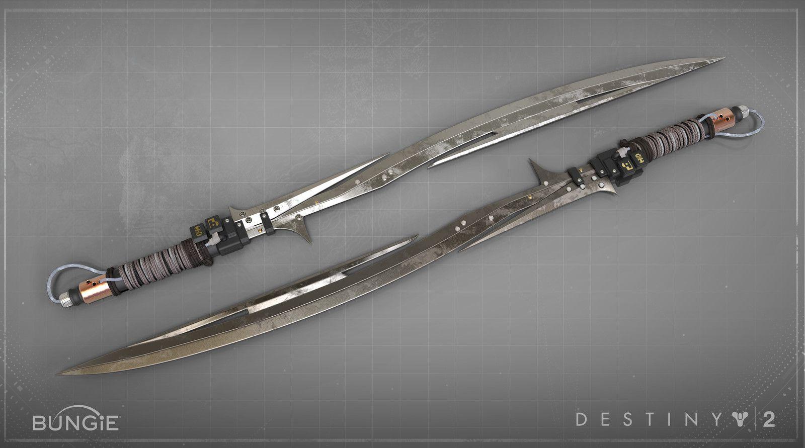 Destiny 2 Curse Of Osiris Sword Matt Lichy On ArtStation At