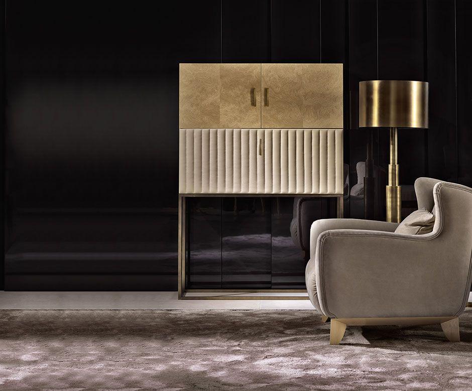 Arredamento Contemporaneo ~ Monsieur bar cabinet bar modern classic interior and sofa daybed