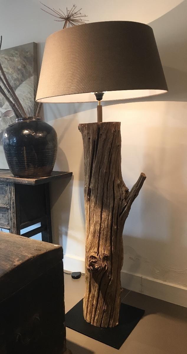 Boomstam lamp - Verlichting - Collectie - Looiershuis | Verlichting ...