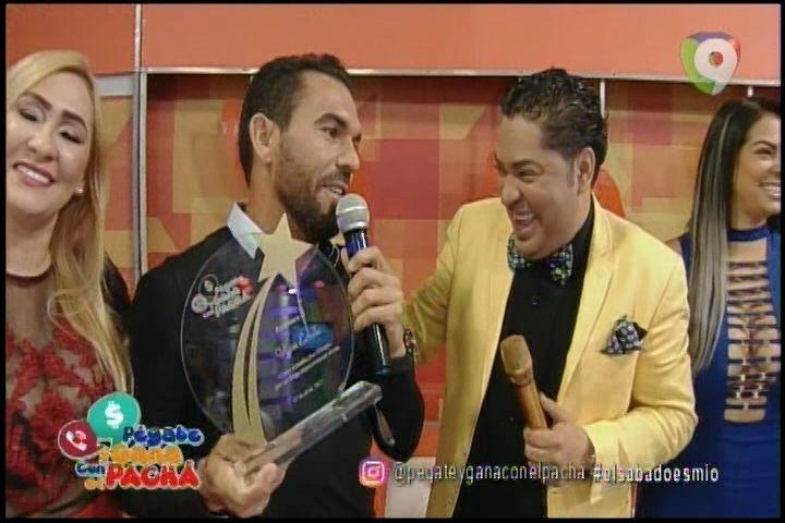 El Pachá Le Da Un Reconocimiento Como Estrella Por Siempre Al Tenistas Dominicano Víctor Estrella