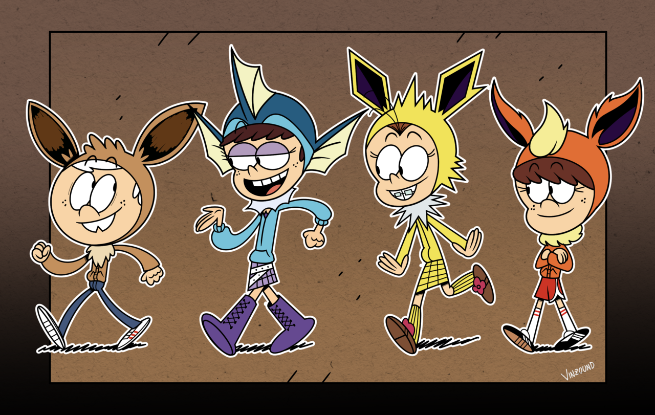 The Eevee House (With images) Loud house