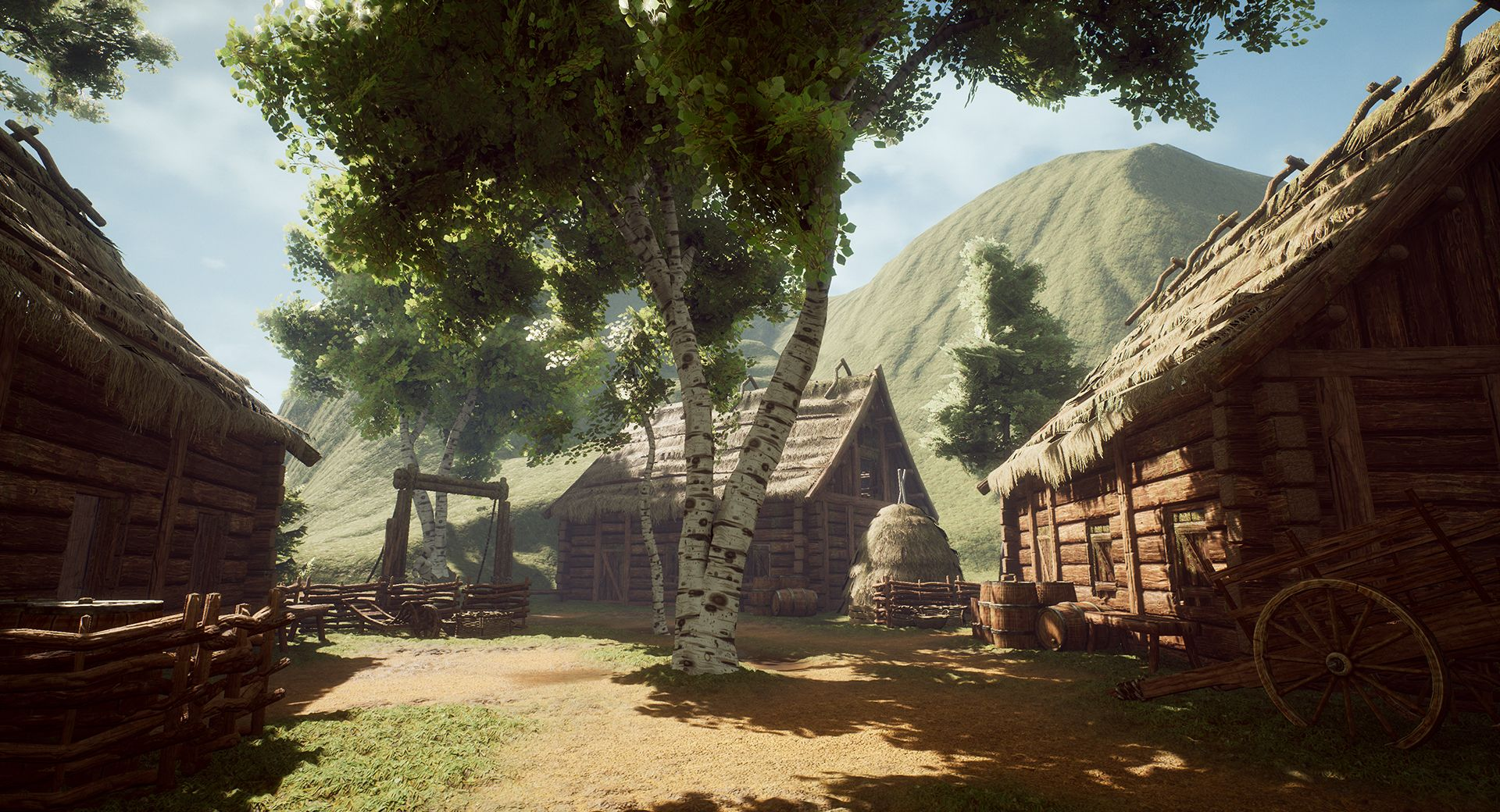 Ue4 Medieval Scandinavian Village
