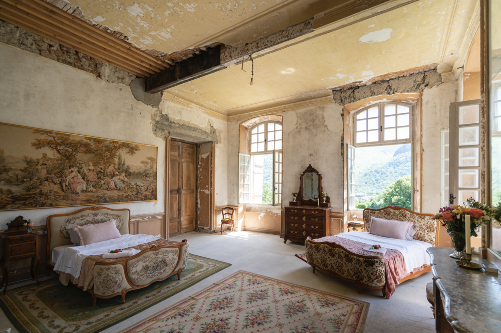 The Chateau Today Afters Chateau De Gudanes Chateau De Gudanes French Chateau Homes Chateaux Interiors