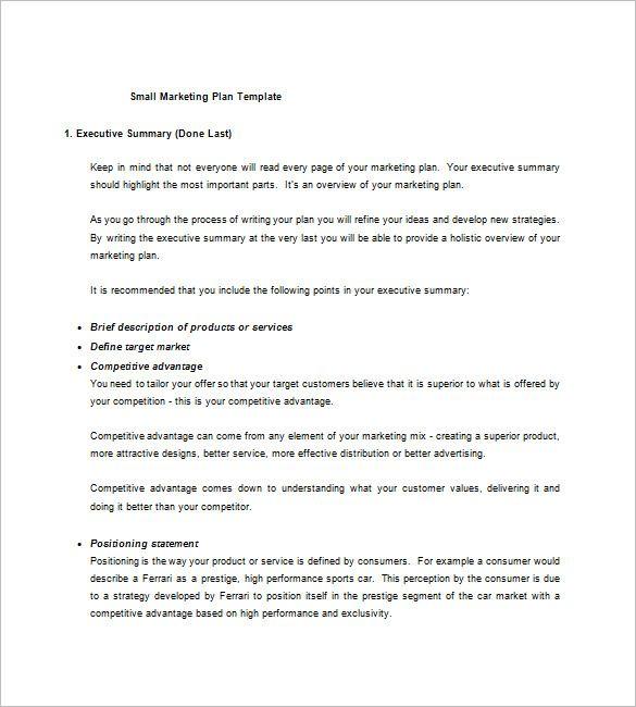 Market Plan marketing Plan Template Pinterest Marketing ideas